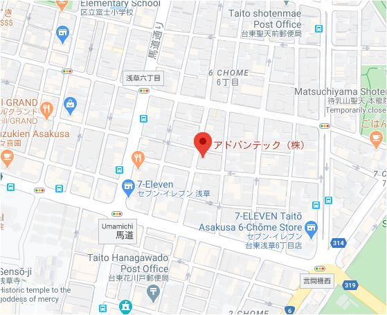 This image has an empty alt attribute; its file name is tokyo-office-map.jpg